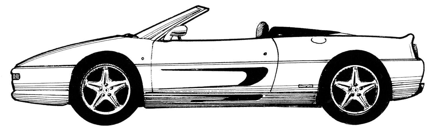 Ferrari Silhouettes Sports And Gts Pt2