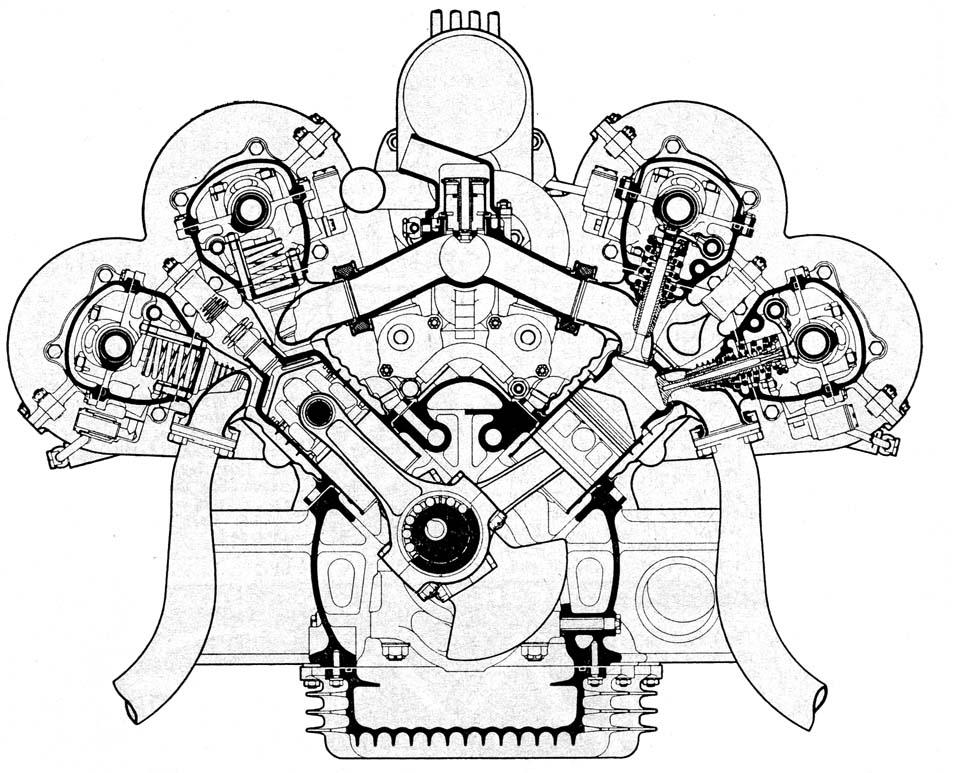 Mercedes 165 Engine
