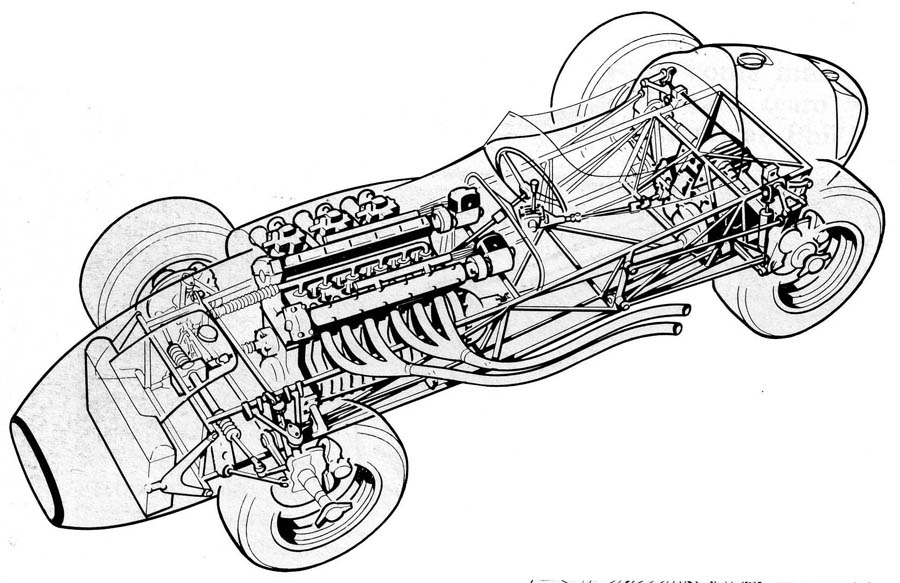Gp Cars Cutaways